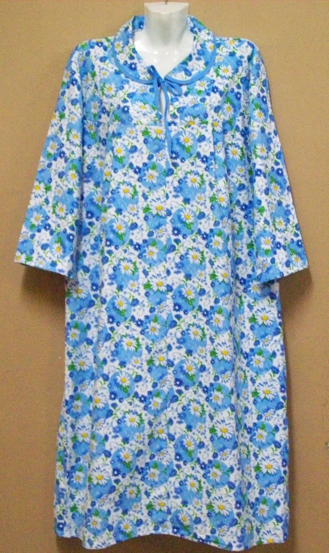 129b9eae9b0fff0 Ночная сорочка с длинным рукавом. Модель № 030